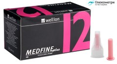 Голки Wellion MEDFINE plus 12 мм